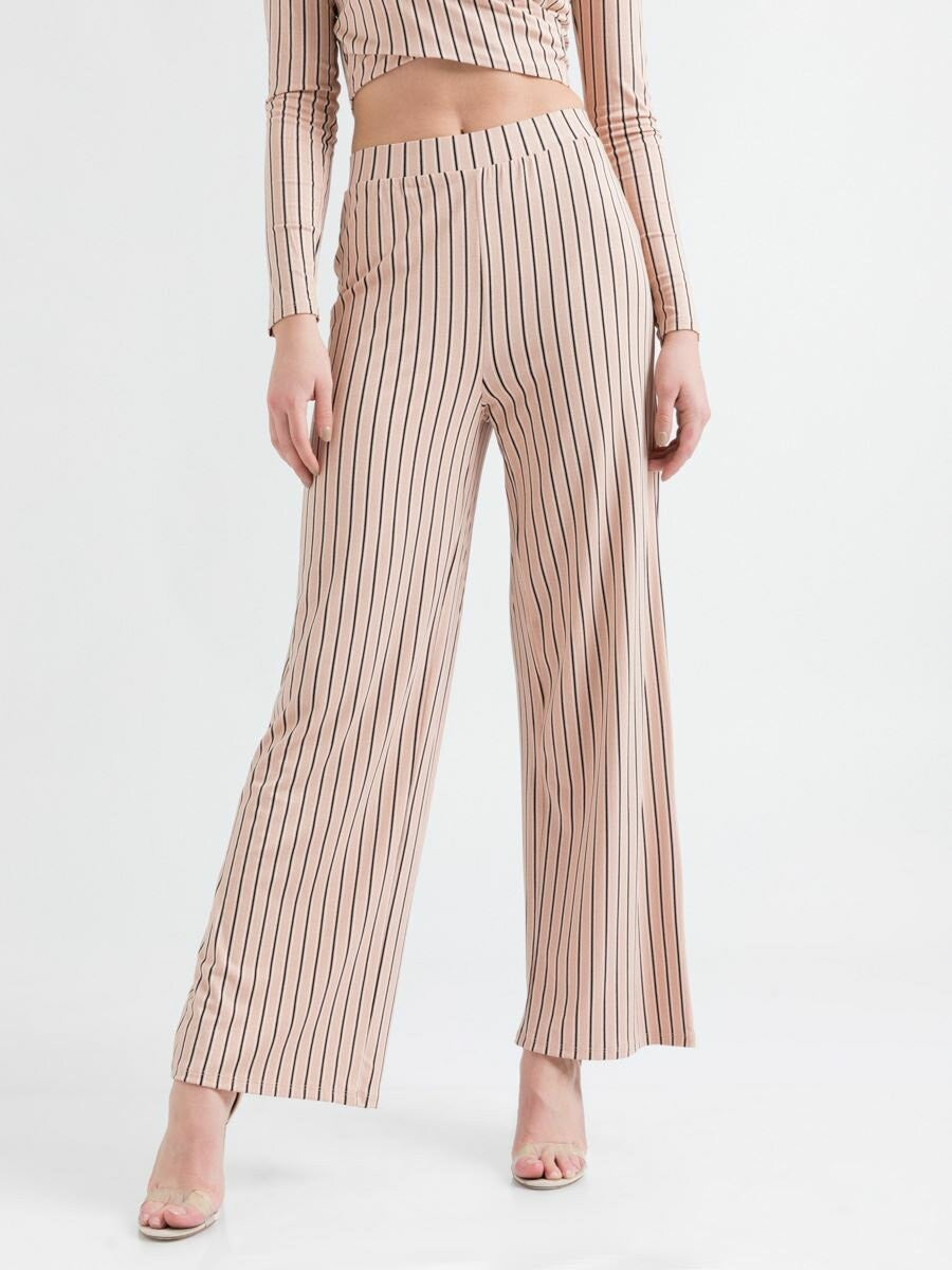 Pant with Stripes | Spanish Villa Black Lines