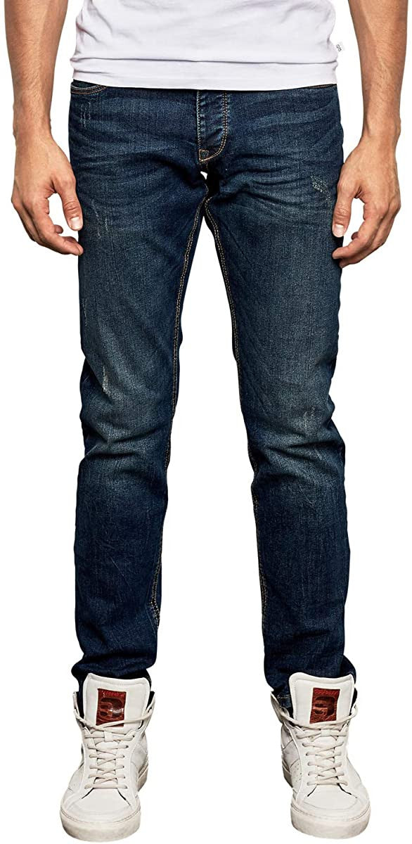 Slim Fit Denim Jeans | Stone Washed