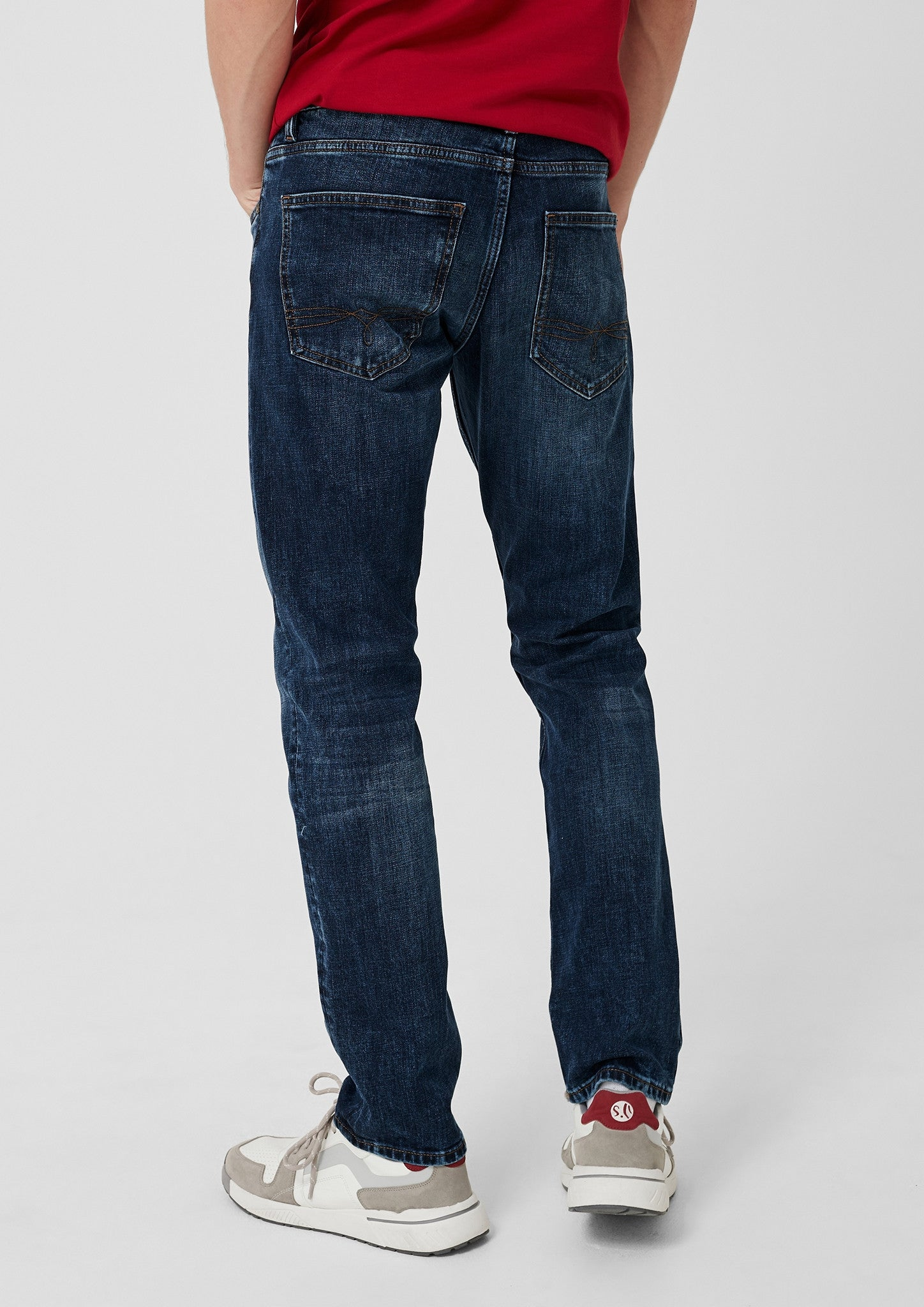 Slim Fit Denim Jeans | Blue Wash