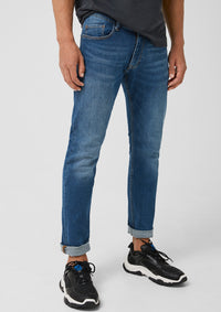 Slim Fit Denim Jeans | Faded Blue
