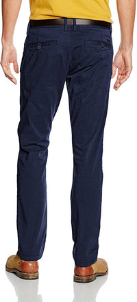 Slim Fit Pants | Navy Blue
