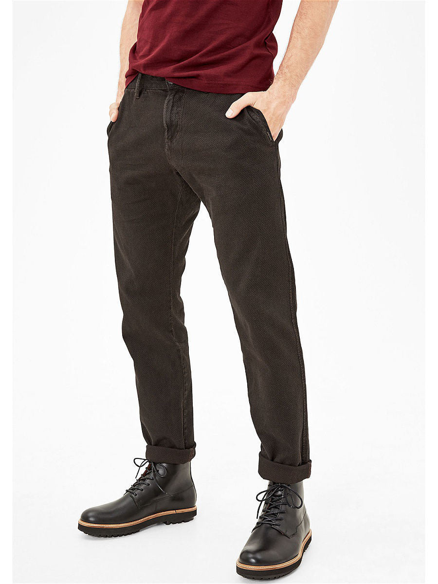 Casual Slim Pants | Brown