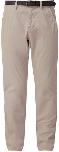 Slim Fit Pants With Side Pockets | Classic Khaki