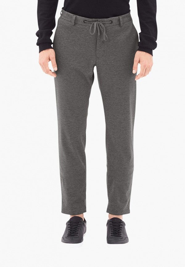 Slim Fit Pants | Grey Melange