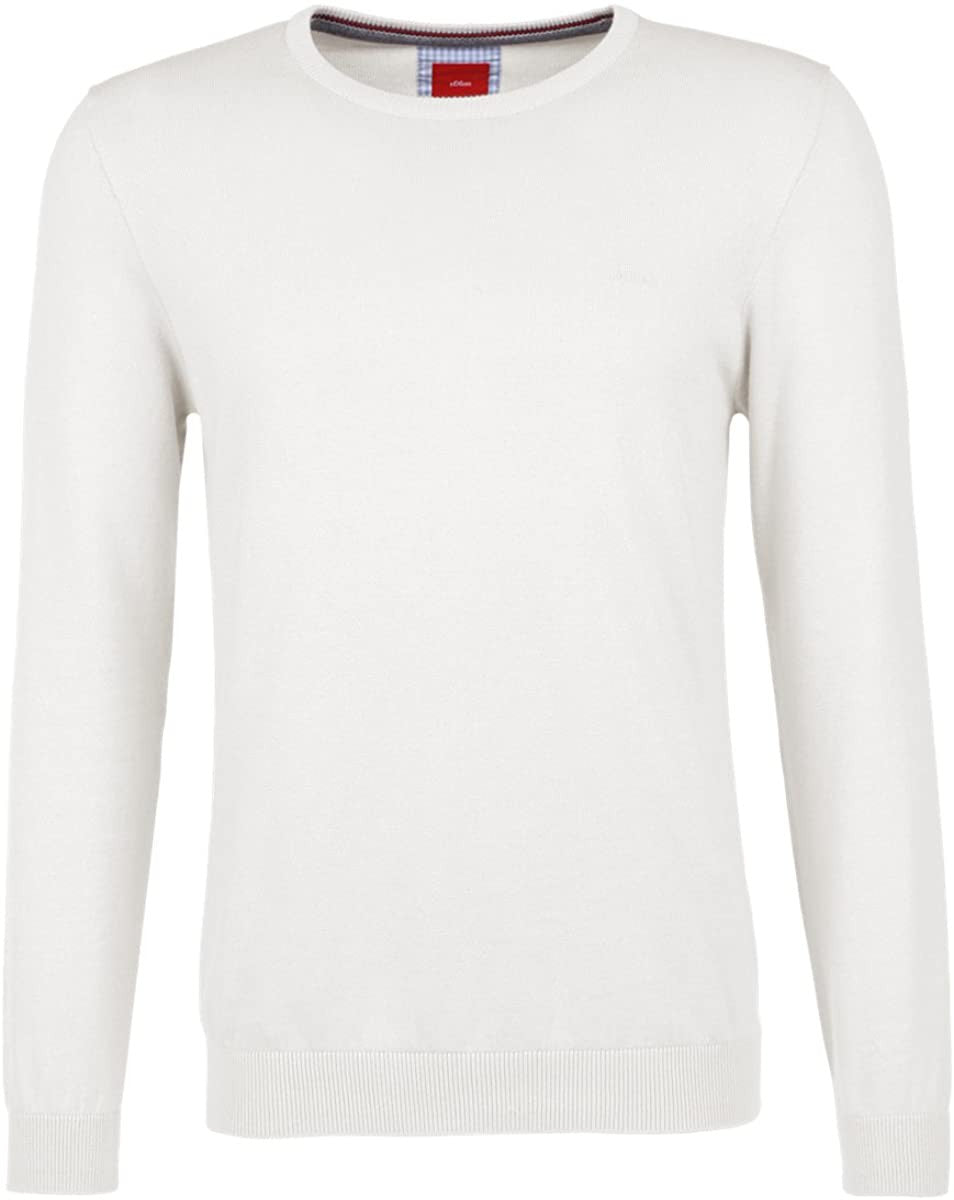 Basic Round Neck Sweater | Off-White