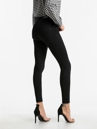 Jeans Skinny Fit - High Waist | Black Wash