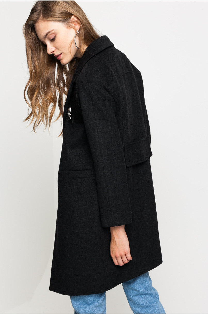 Coat  | Dark Grey