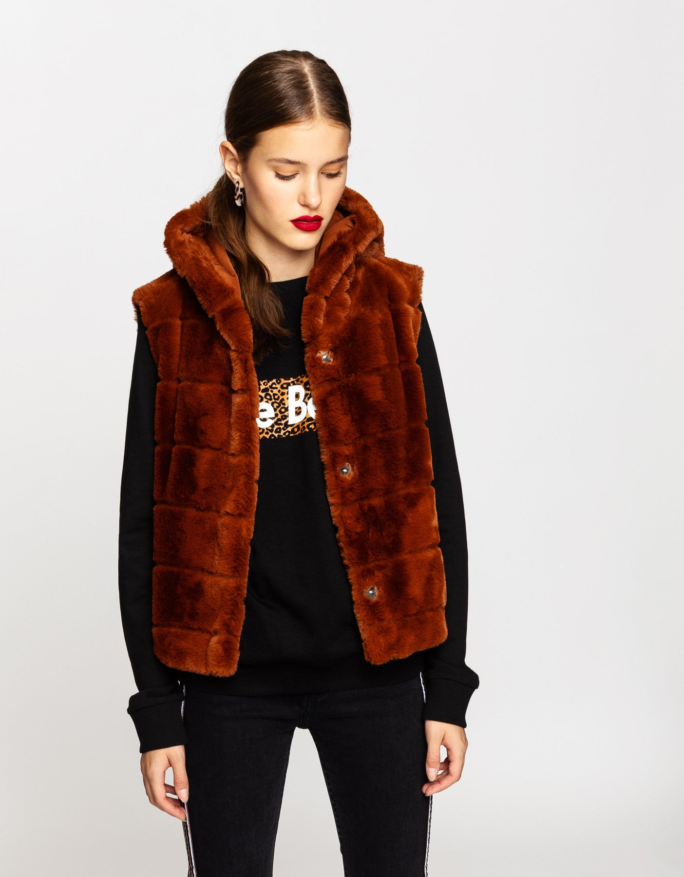 Faux Fur Jacket | Cathay Spice