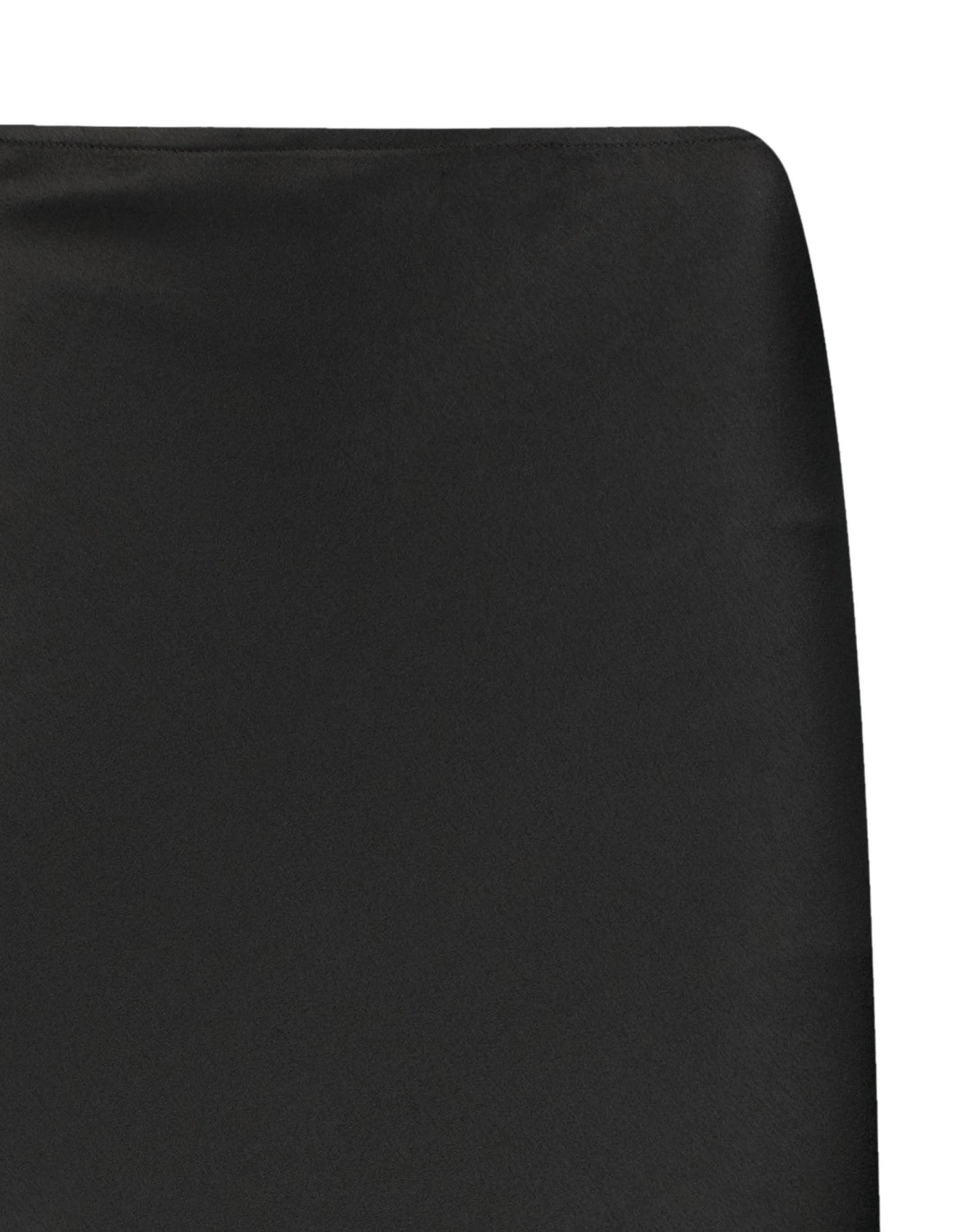 Satin Skirt | Black