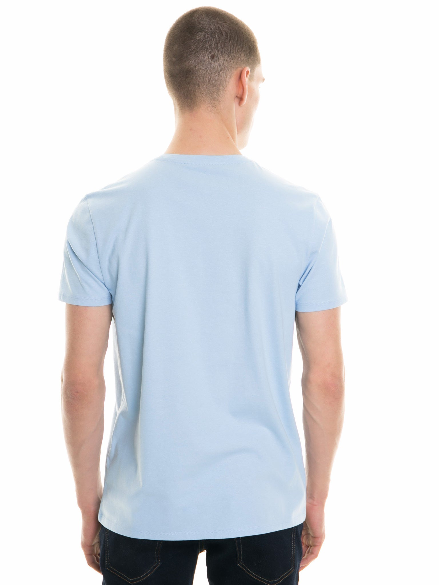 T.Shirt with Print | Light Blue