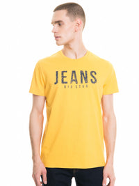 T.Shirt with Print | Yellow