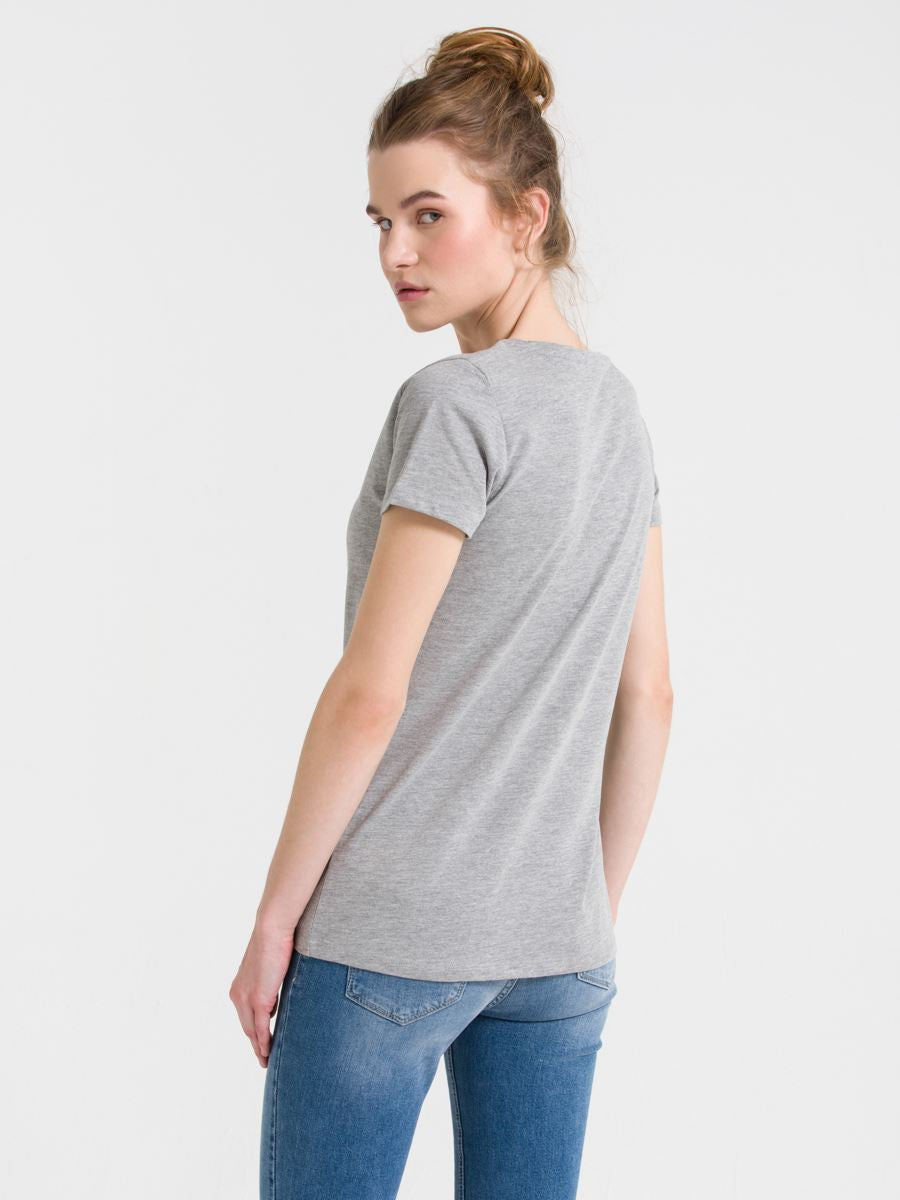 T.Shirt Short Sleeve | Grey Melange