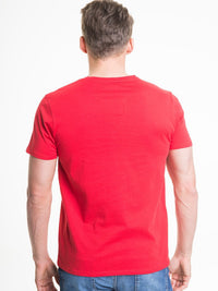T.Shirt with Print | Red