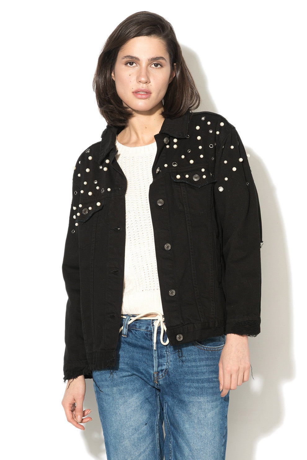 Denim Jacket  | Black