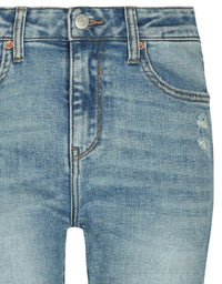 Mom Slim Mid Waist Jeans | Denim Blue (EHA)