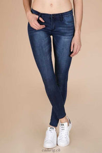 Low Waist Skinny Jeans  | Blue Wash