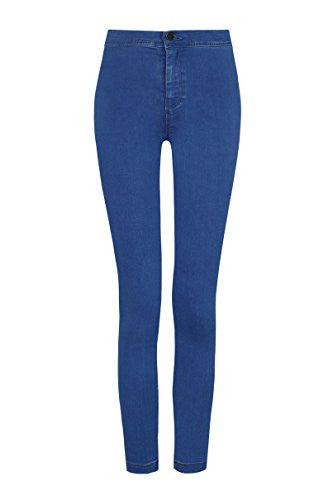 High Waist Slim Jeans  | Blue Wash