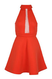 Dress | Bright Red