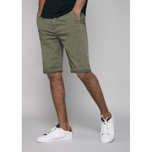 Bermuda Chino Side Pockets | Khaki