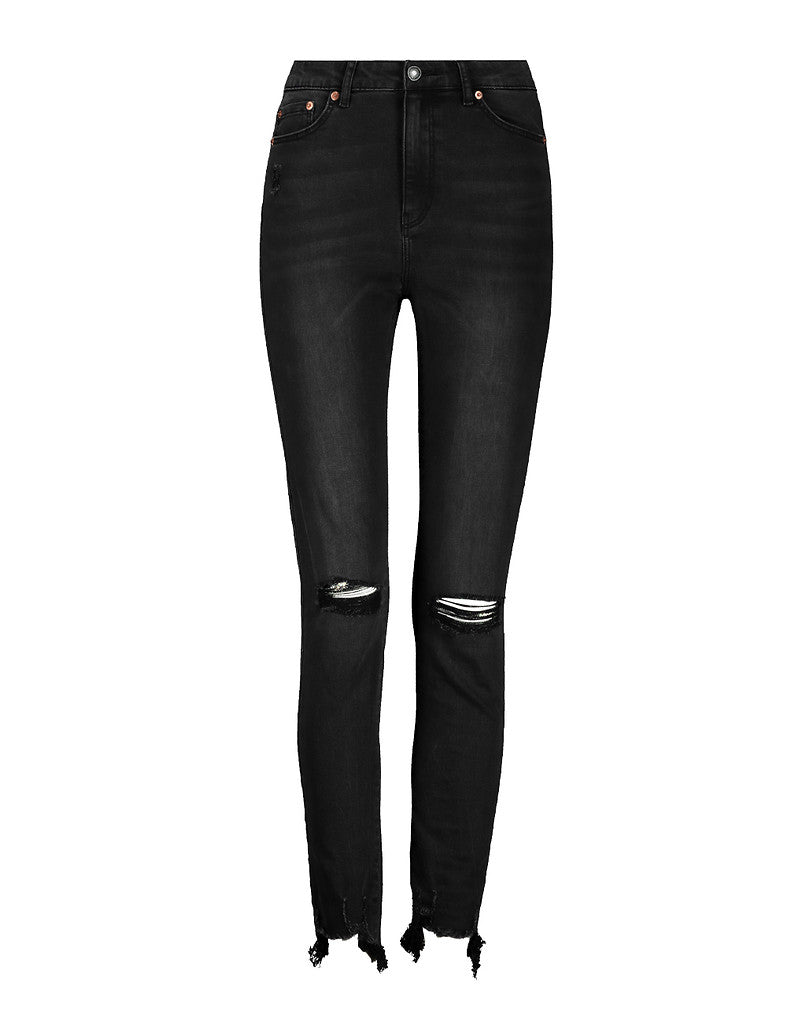 High Waist Jeans | Denim Black (HHU)
