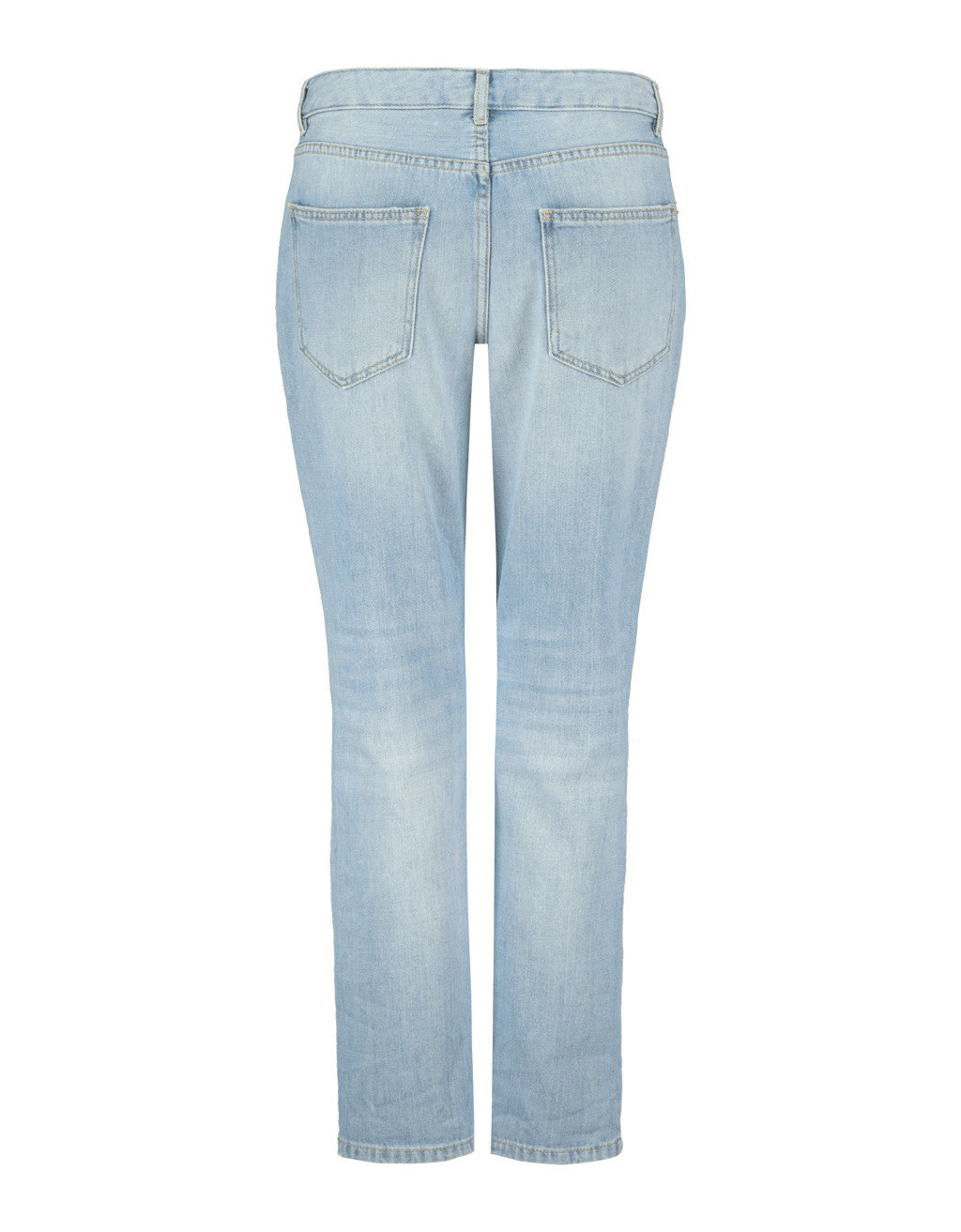Ripped Boyfriend Denim | Denim Blue (EHBL)