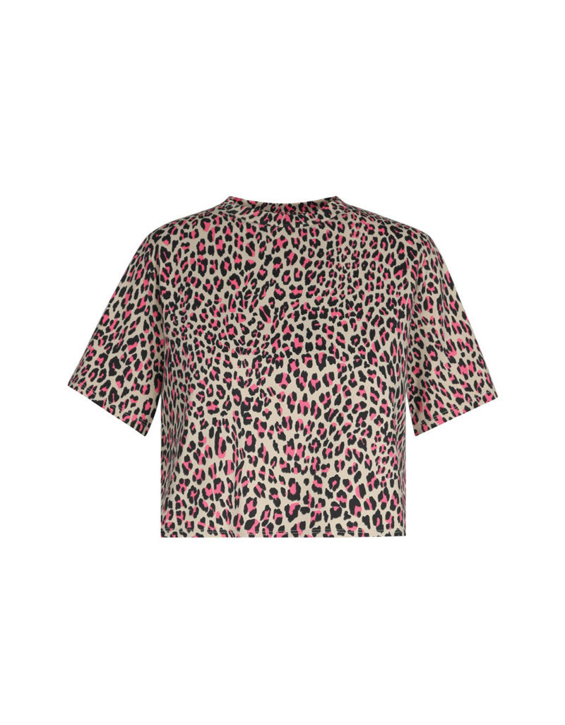 Crop T-Shirt | Tiger Print