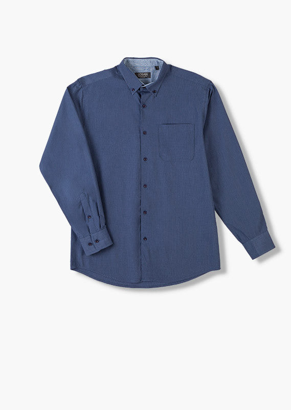 Shirt Long Sleeve | Dark Blue