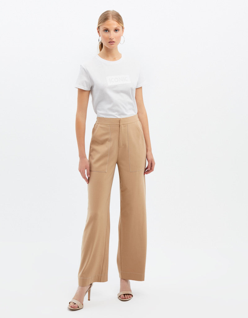 Flair Trousers | Sand
