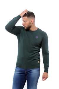 Basic Sweater Round Neck | Green