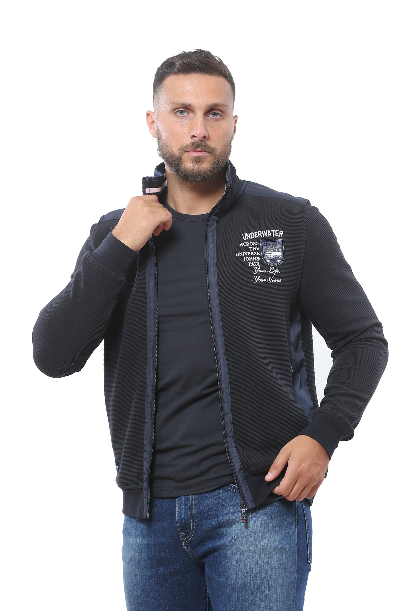 Sweatshirt Full Zip | Dark Navy
