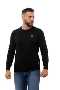 Basic Sweater Round Neck | Black