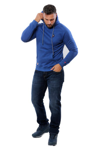 Hooded Sweatshirt | Blue