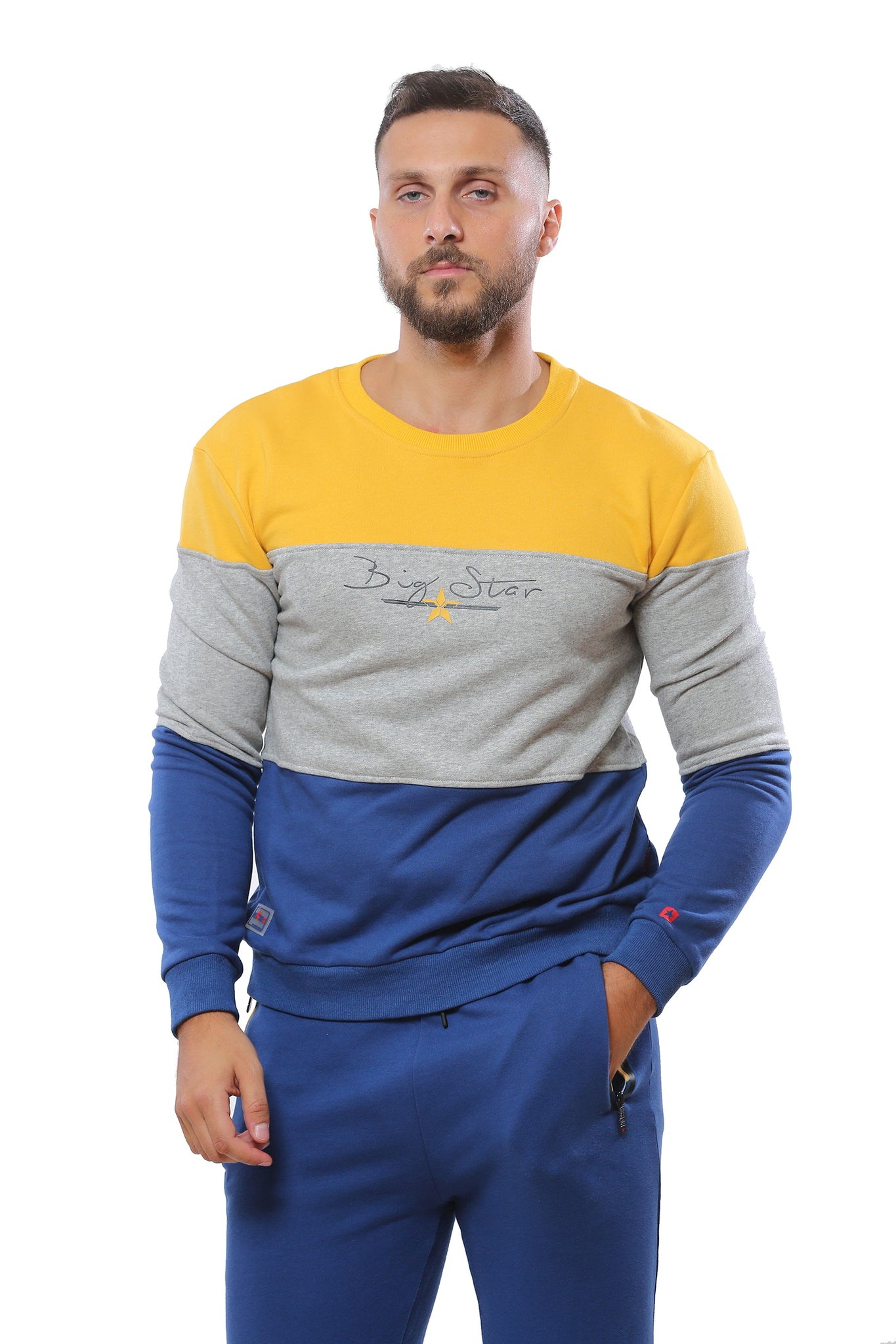 "Trendy Sweatshirt ""BIGSTAR"" 