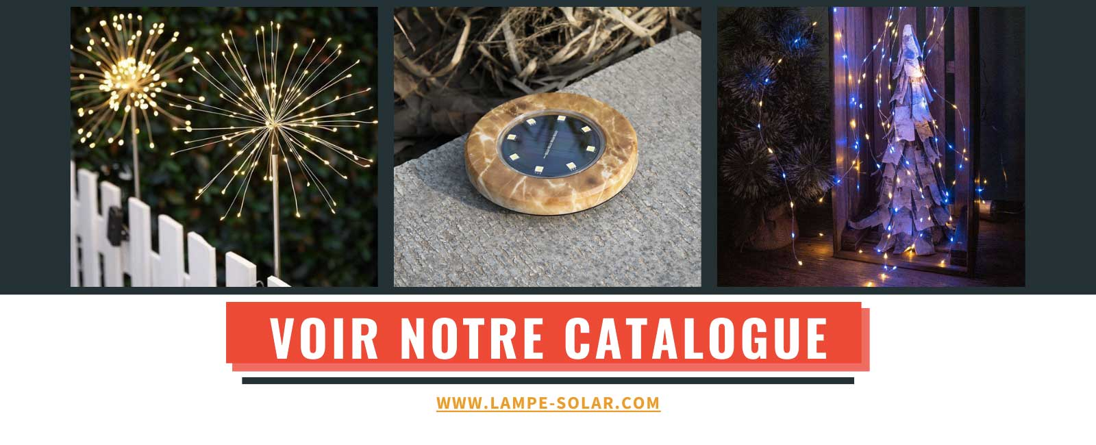 catalogue lampe solar