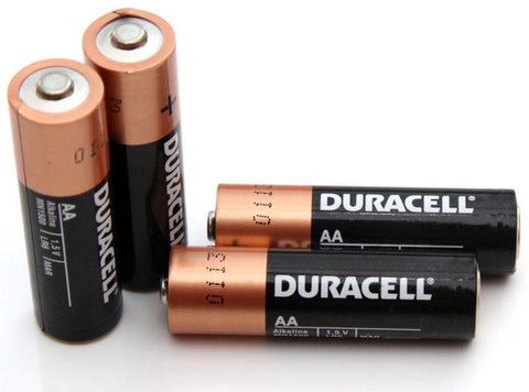 piles AA alcalines Duracell