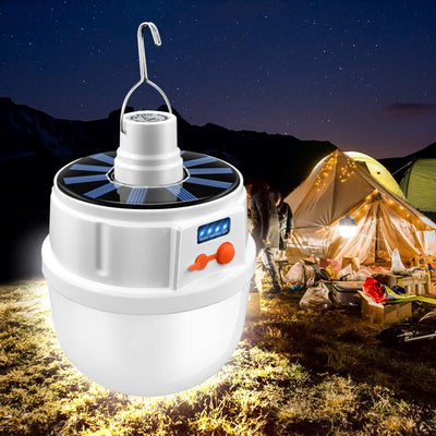Lampe LED solaire camping | Lampe Solar®