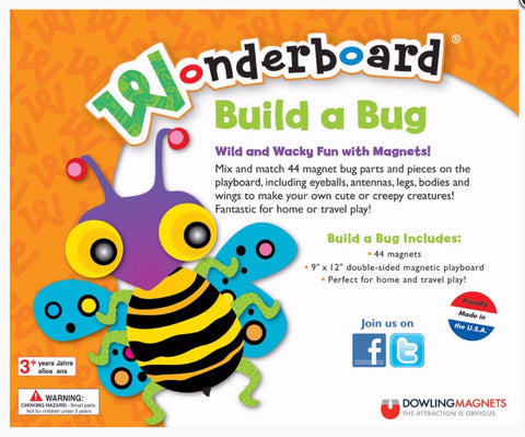 Wonderboard: Build A Bug