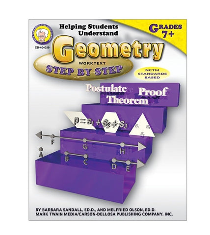 Book: Geometry Step by Step , grade 7+