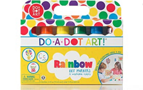 Do a Dot Art! Rainbow, 6 cnt
