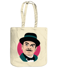 Load image into Gallery viewer, Poirot organic cotton tote bag