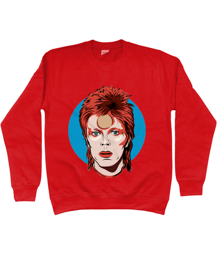 David bowie Ziggy Stardust sweatshirt - unisex fit