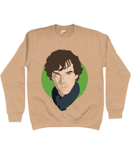 Load image into Gallery viewer, Sherlock sweatshirt - unisex
