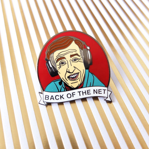 Alan Partridge hard enamel pin