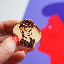Load image into Gallery viewer, Blade Runner Rachael enamel pin - two colours