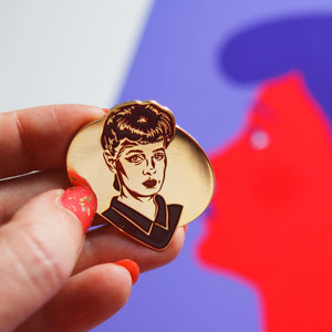 Blade Runner Rachael enamel pin - two colours