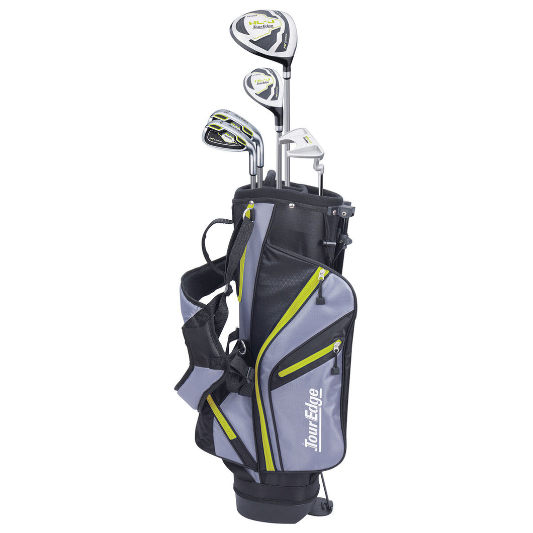JUNIOR TOUR EDGE GOLF SET HL - J LIME GREEN (age 7 to 10)