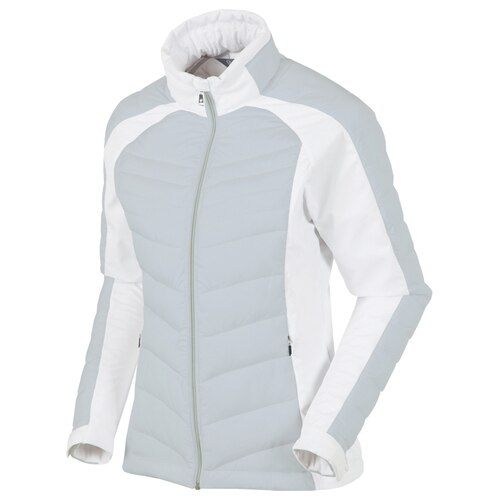 SUN ICE WOMEN'S CHELSEA THERMAL 3M INSULATED OYSTER/PURE WHITE JACKET