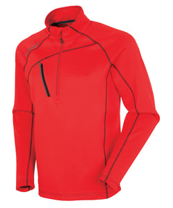 SUN ICE MEN'S ALEXANDER SUPERLITEFX STRETCH THERMAL HALF-ZIP PULLOVER
