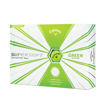 Load image into Gallery viewer, CALLAWAY SUPERSOFT 2020 GOLF BALLS MATTE GREEN