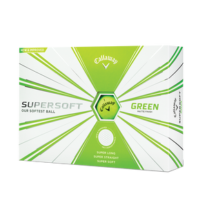 CALLAWAY SUPERSOFT 2020 GOLF BALLS MATTE GREEN